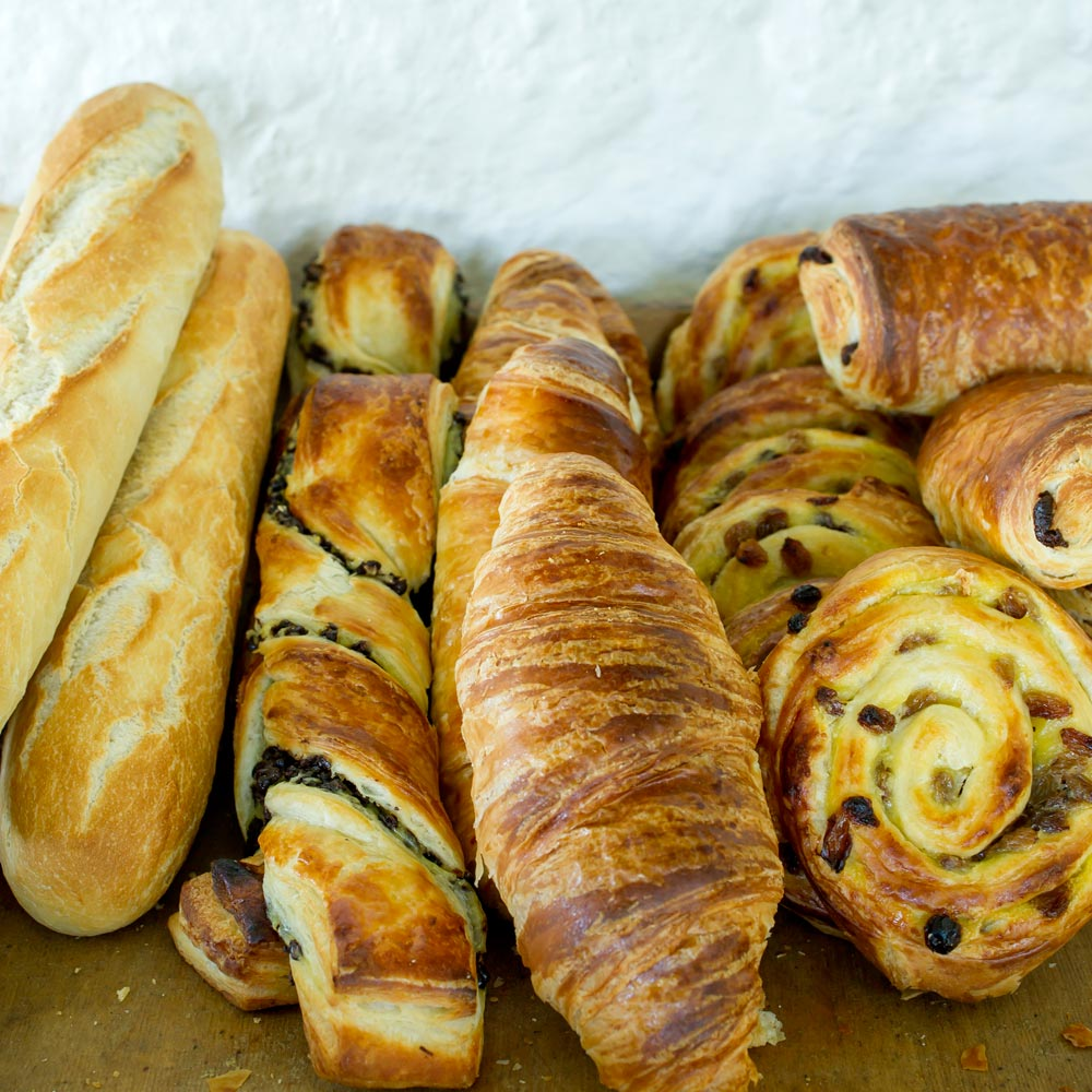 Breakfast Pastries at Longlands