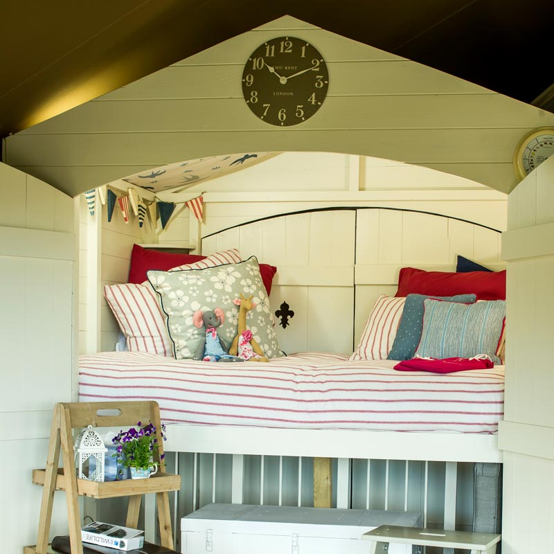 Child friendly Lodges at Longlands Glamping