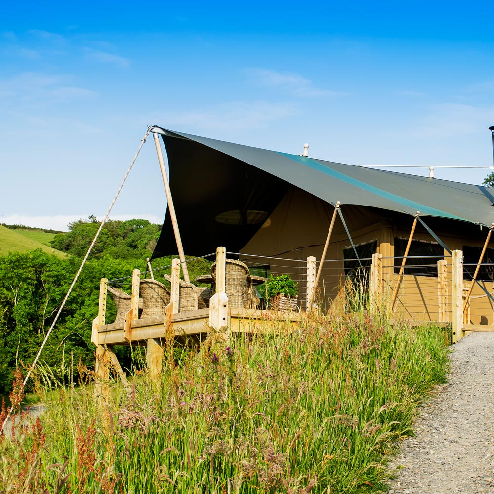 Luxury Glamping at Longlands