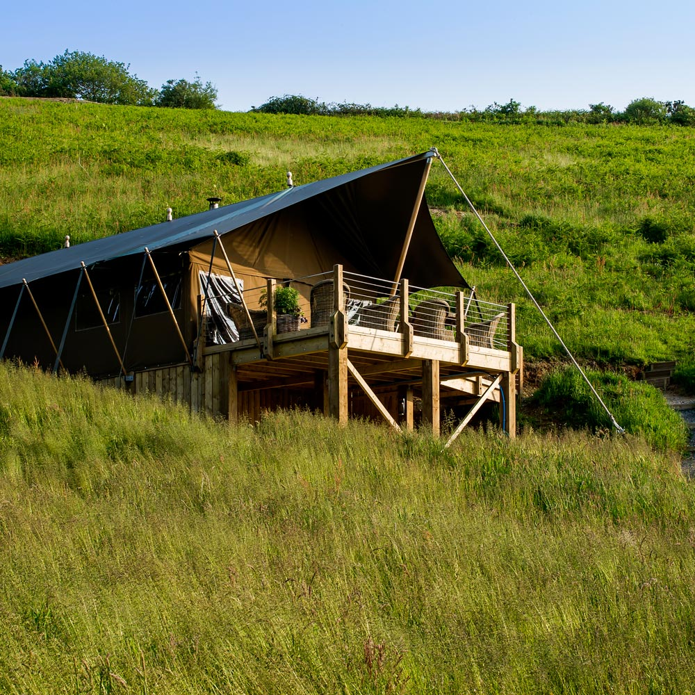 Luxury Glamping Lodges at Longlands