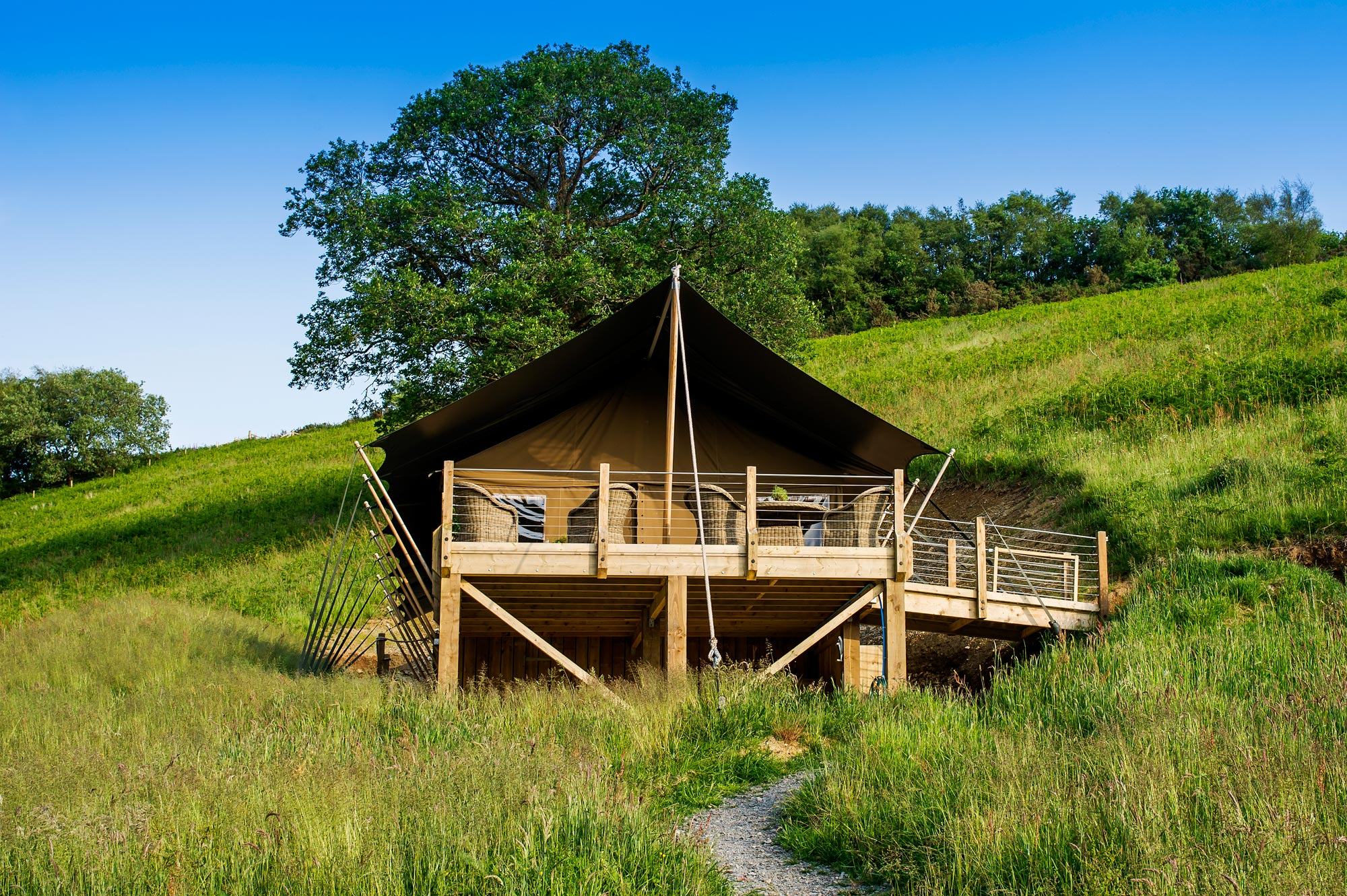 Living green with Luxury Lodges at Longland Glamping