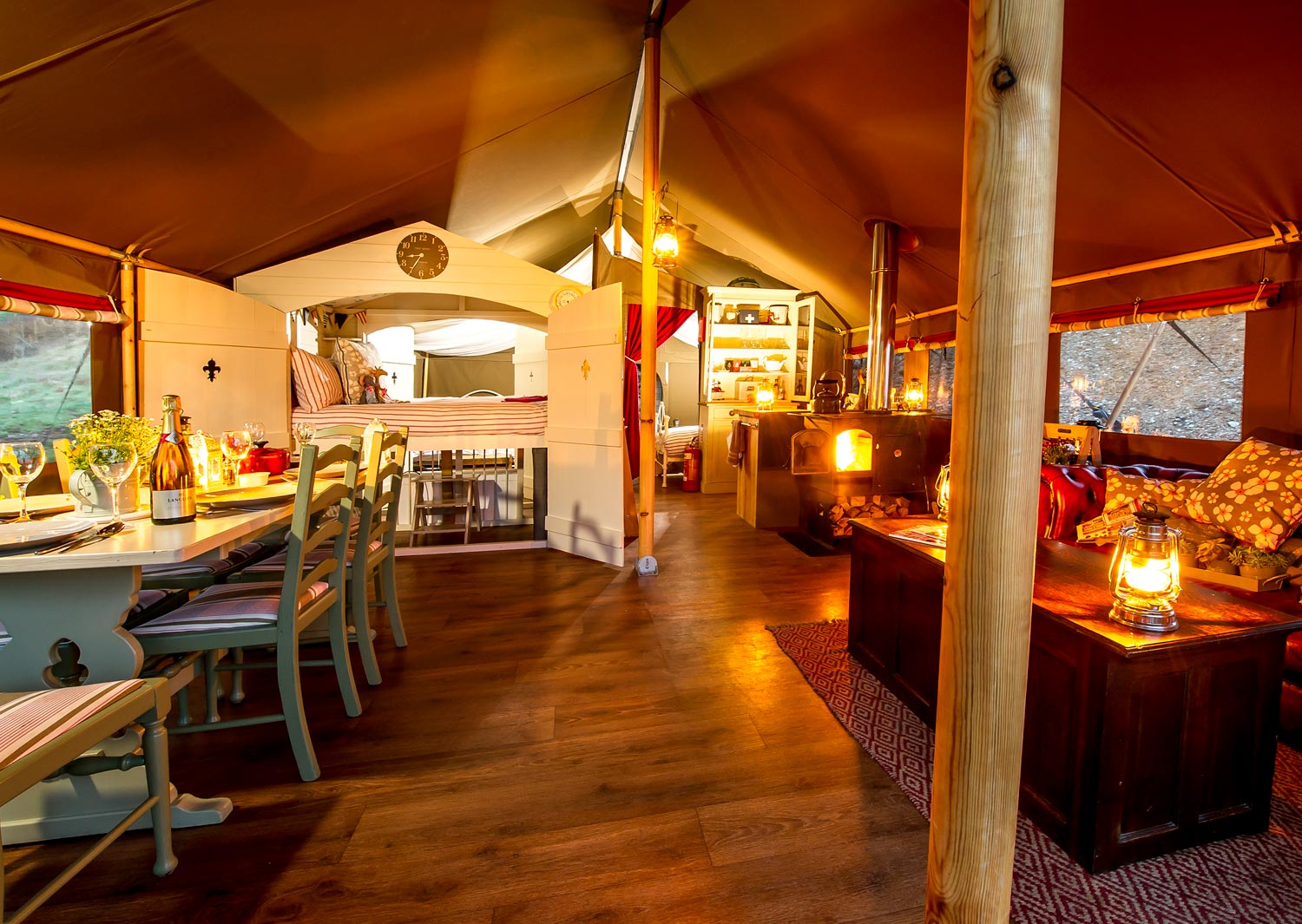 Luxury glamping at longlands unplug reconnect revive for Best boutique hotels devon