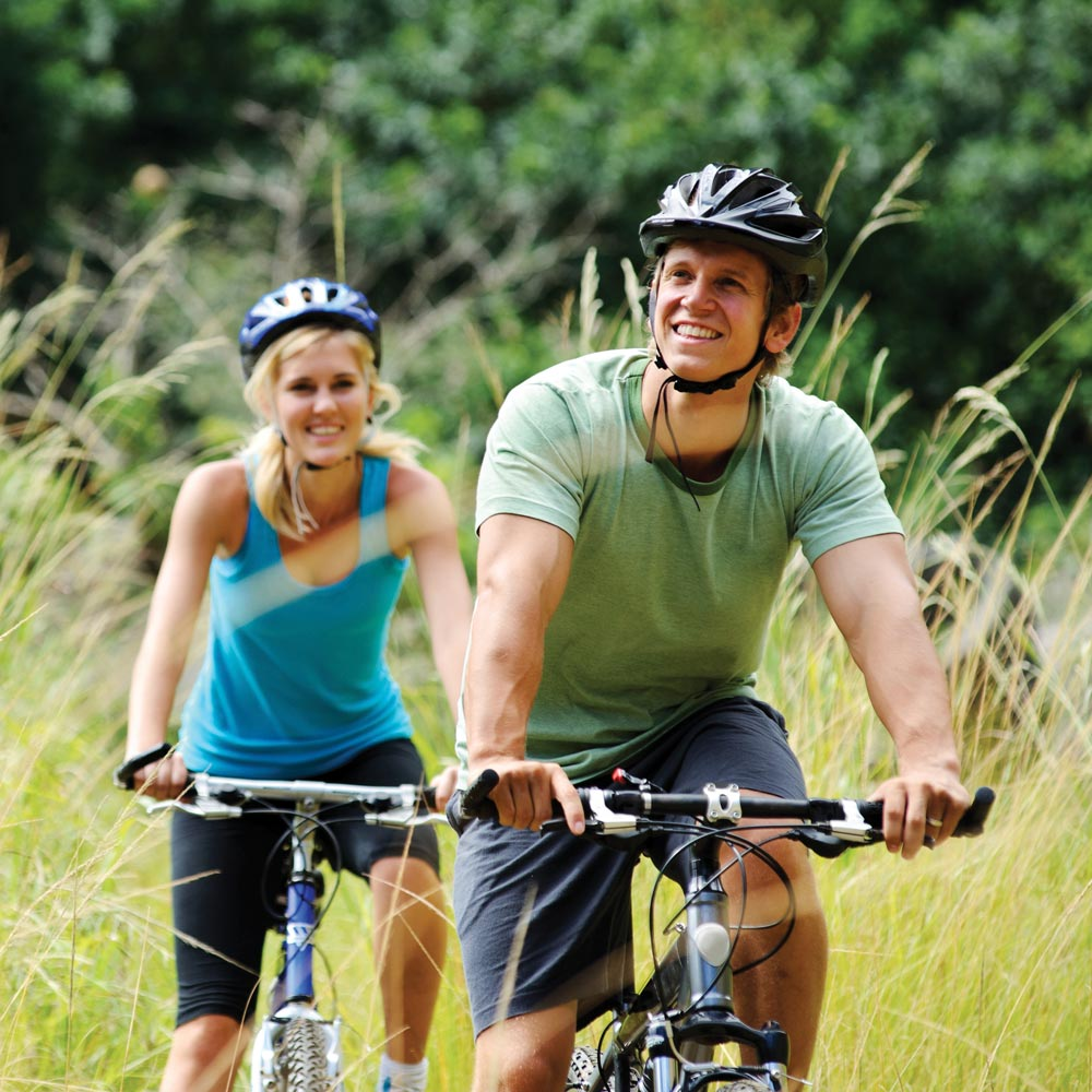 Go for a bike ride around Longland's beautiful Devonshire scenery