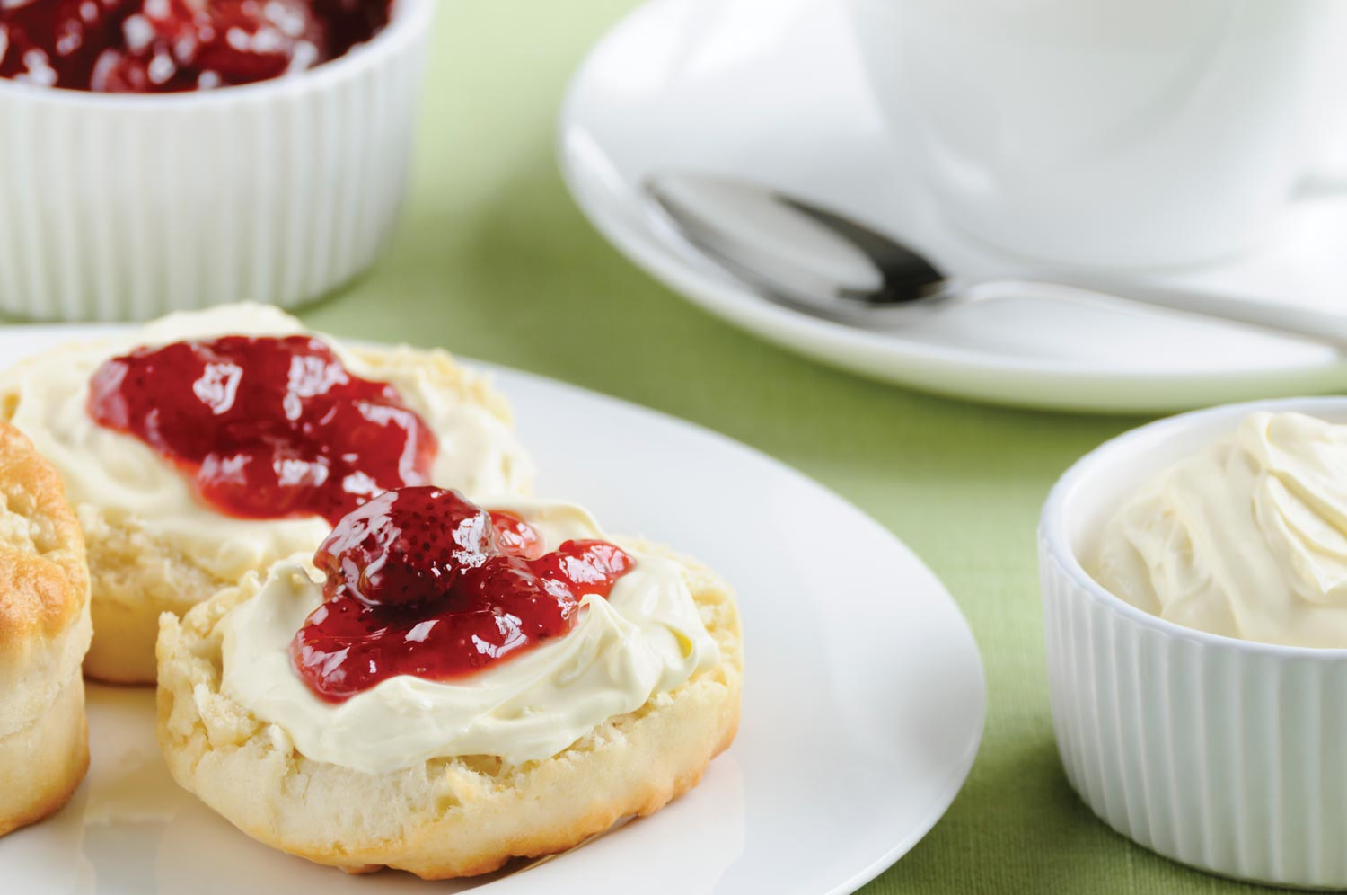 Enjoy Devonshire Cream teas!