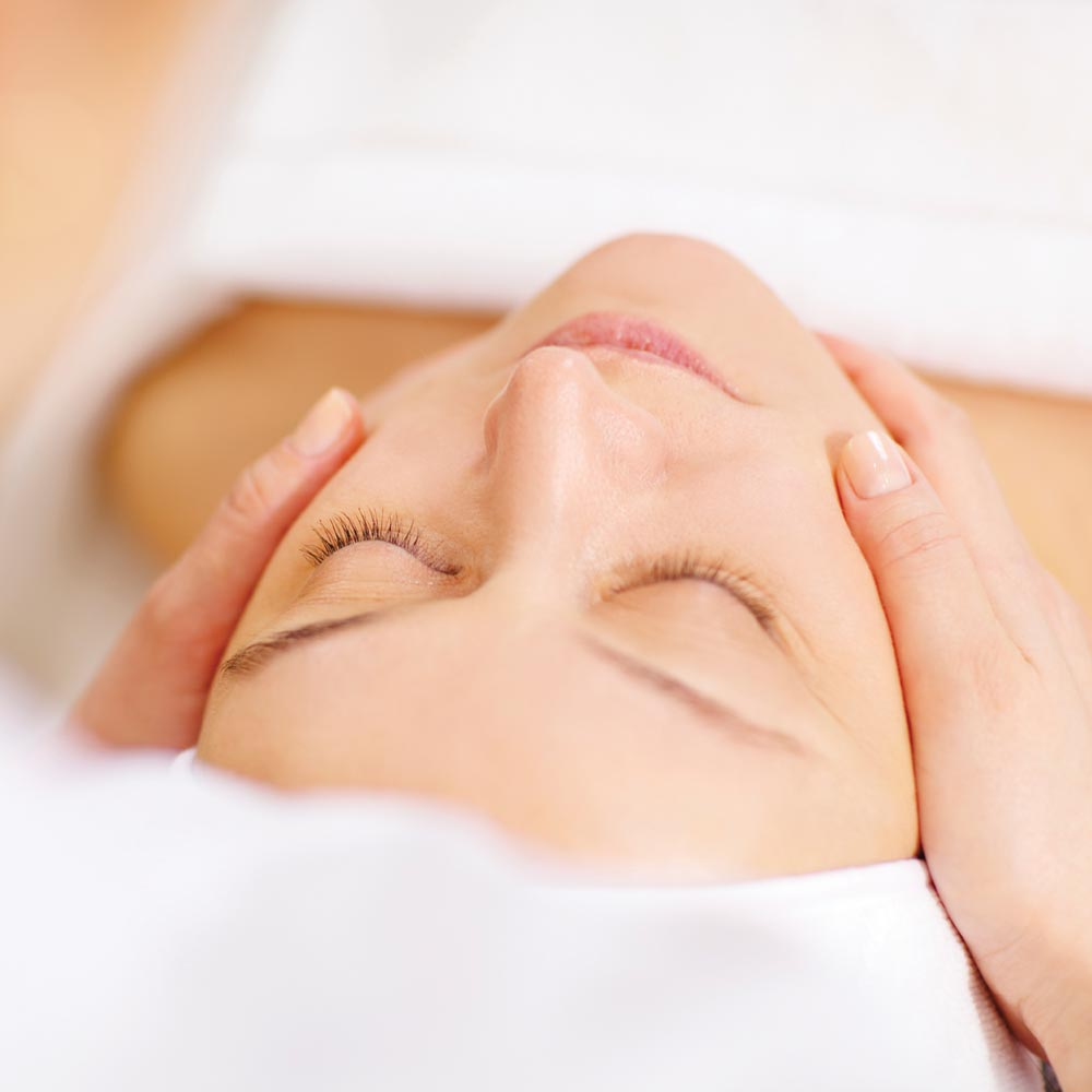 Relaxing facial massages at Longlands Glamping Devon