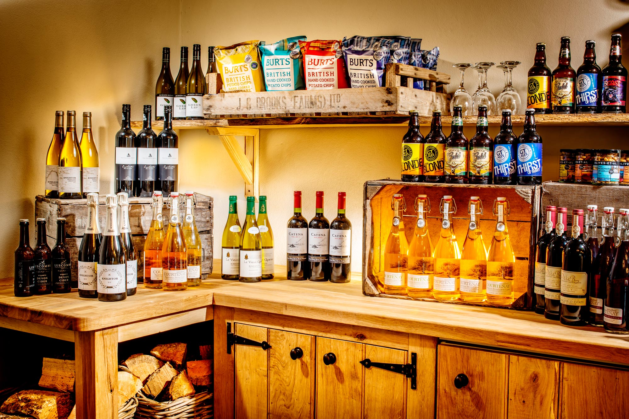 The Cellar Shop at Longlands Devon