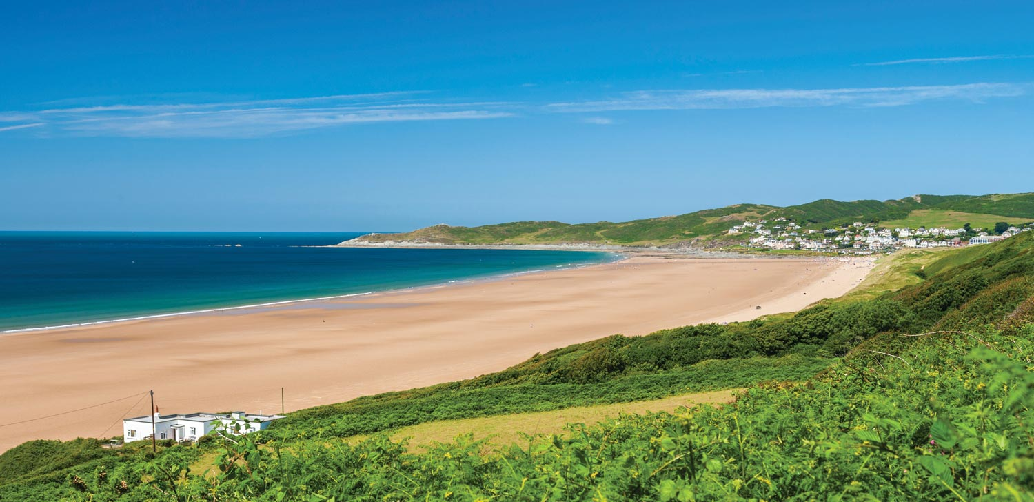 Longland's location is also close to the beautiful Woolacombe Beach
