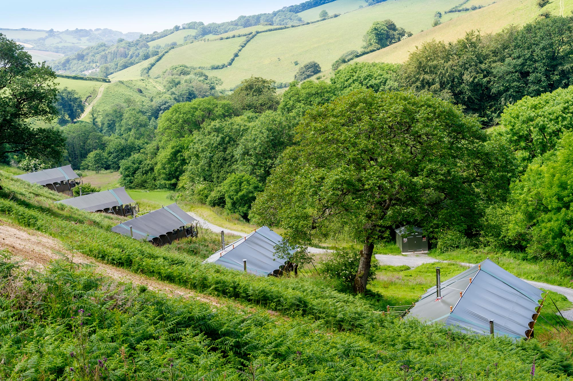 Longlands location is nestled in North Devon's beautiful countryside