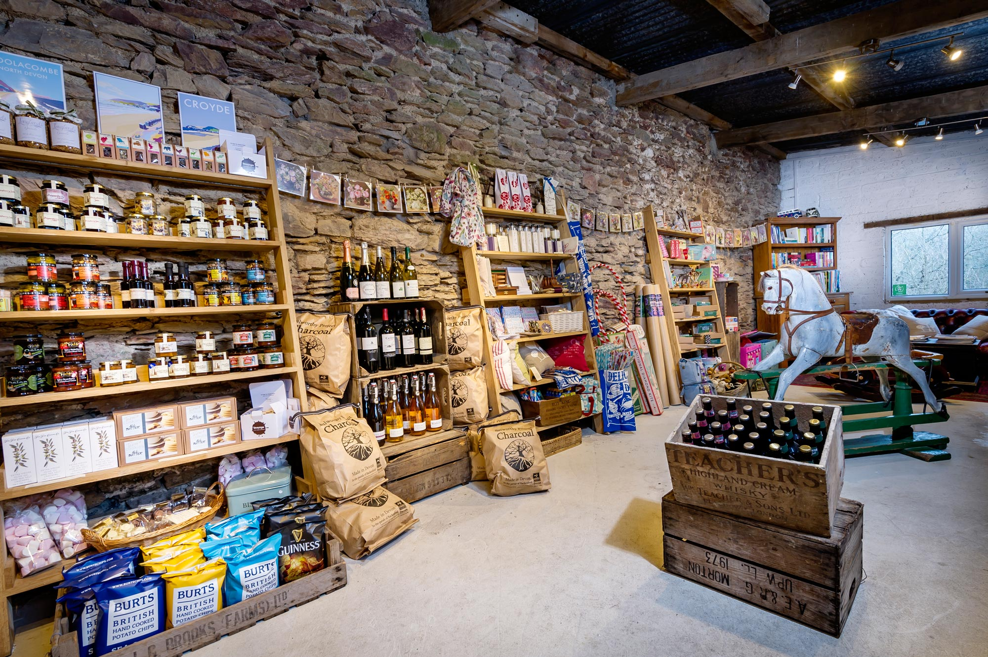 The glamping Shop at Longlands Glamping