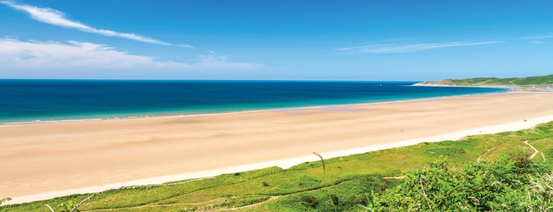 The Best Beach in Britain is just 20 minutes from Longlands