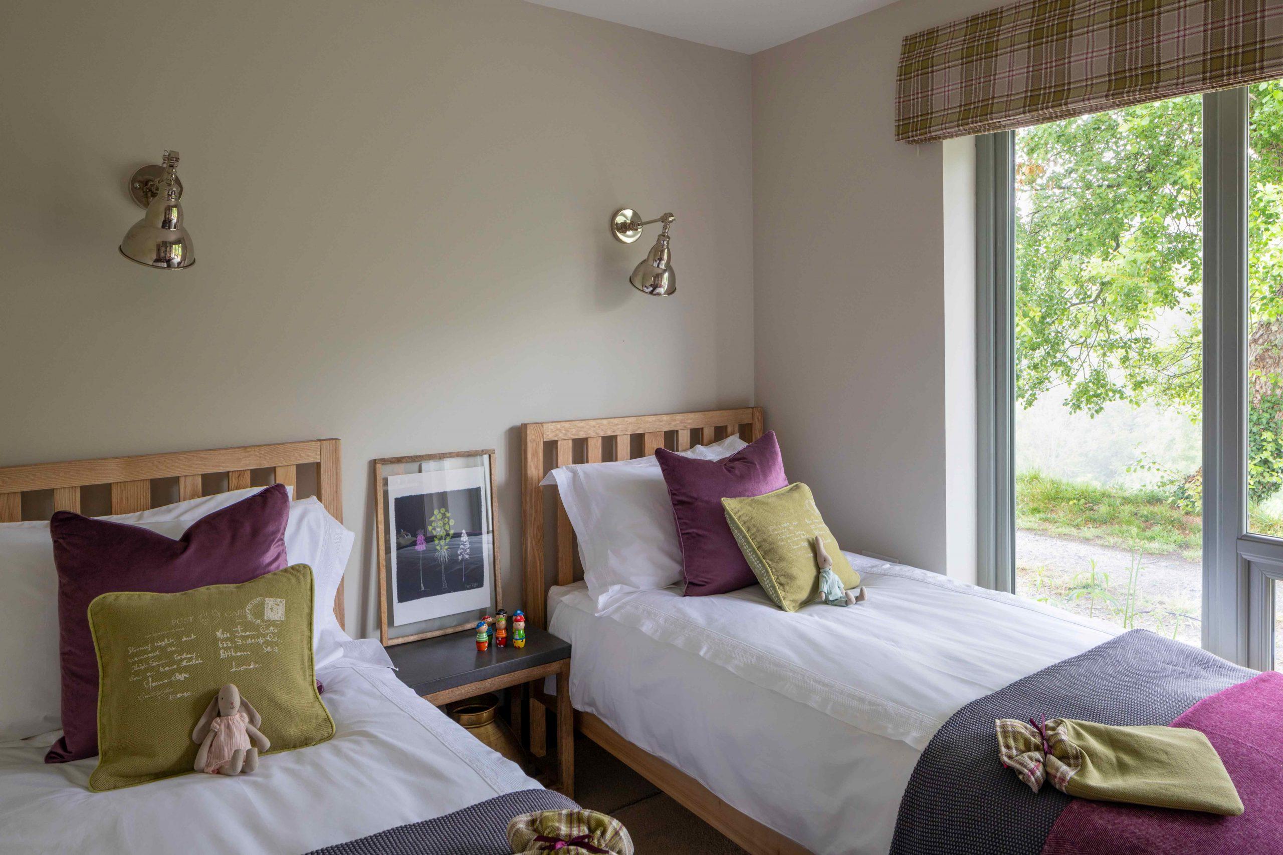 Long Barn Twin Bedroom