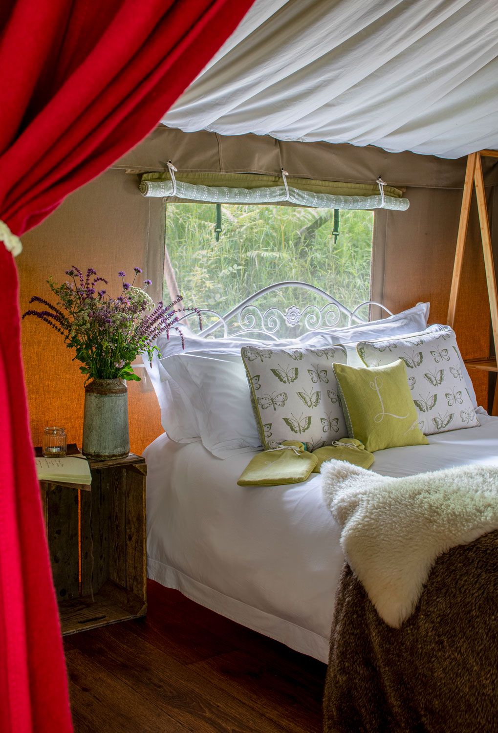 Loglands Devon Luxury Glamping Accommodation