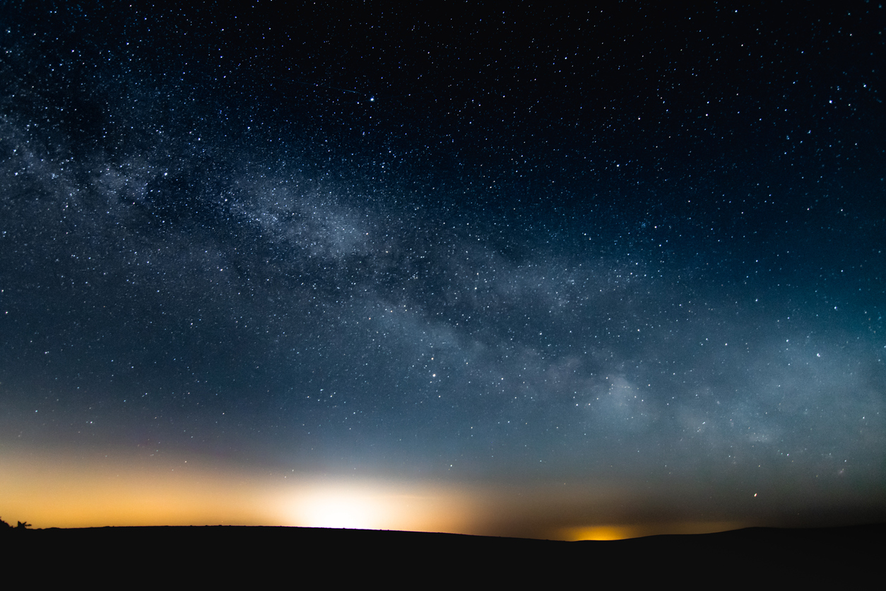 Milky Way Galaxy taken from Exmoor UK