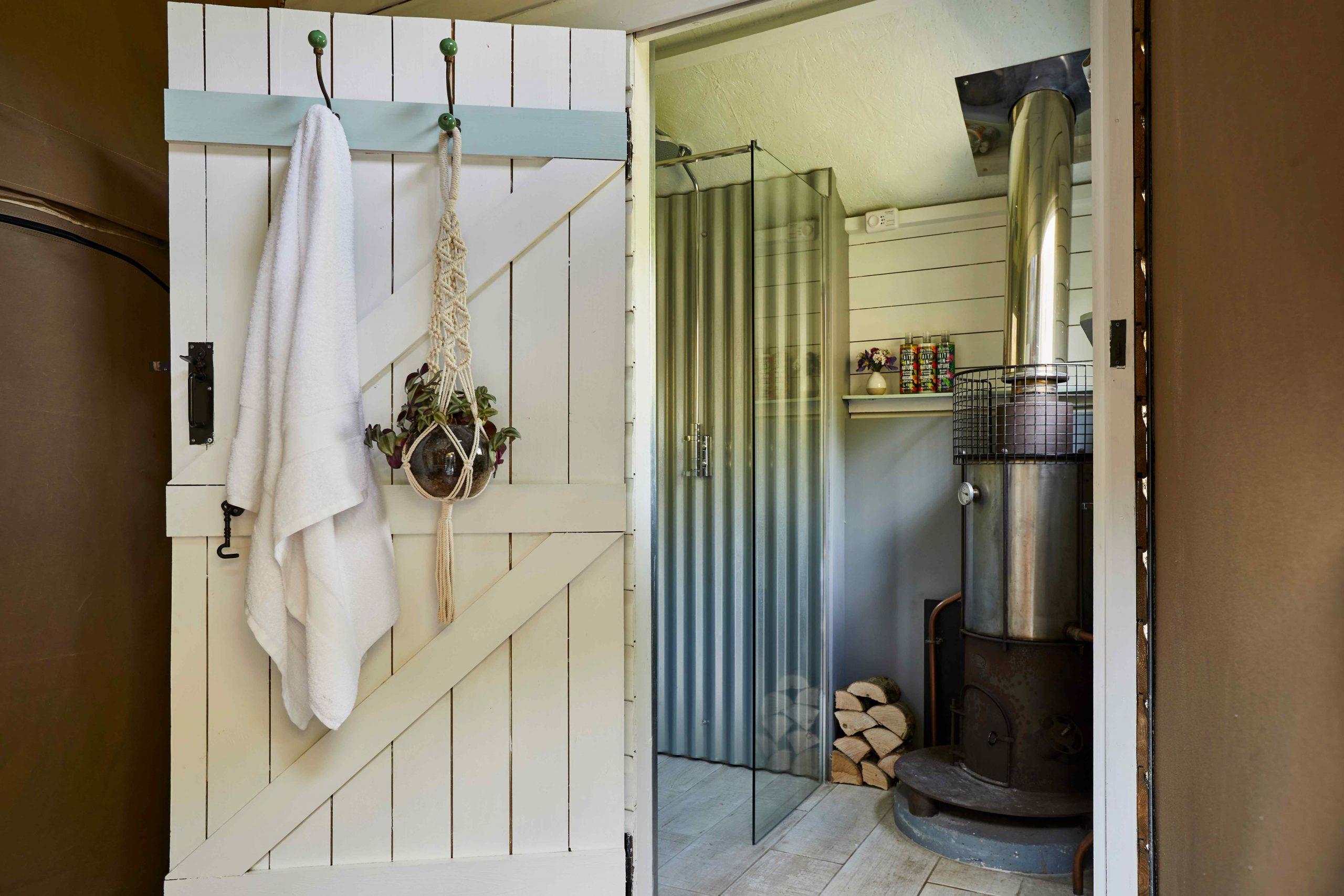 Glamping Lodge Luxury Bathroom